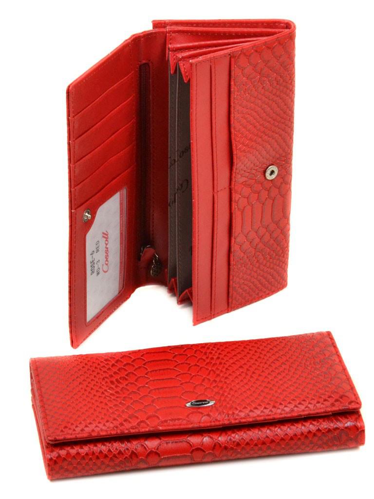 d3eff7767d58 Женский кошелек из кожзама Rose-6 WD-3 red, цена 245 грн., купить в ...