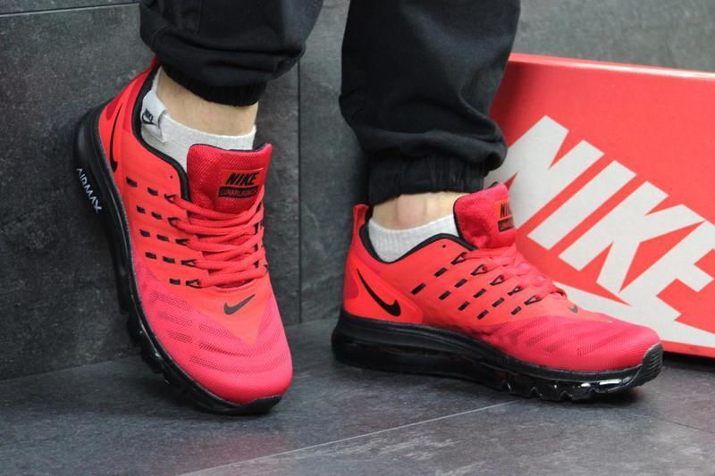 873f69a1 Мужские кроссовки в стиле Nike Air Max, красного цвета / кроссовки мужские  Найк Аир Мак