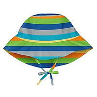 Солнцезащитная панамка I Play -Light Gray Multistripe