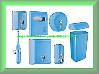 Набор для ванной и туалетной комнаты СOLORED Mar Plast, голубой Италия (можно все по отдельности)
