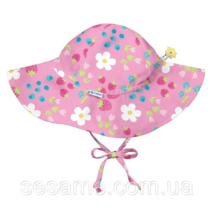 Солнцезащитная панамка I Play -Light Pink Daisy Fruit
