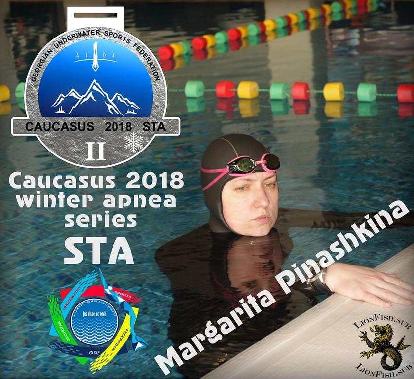 """LionFish.sub выступил спонсором на """"Caucasus 2018 winter apnea series"""" на открытом международном чемпионате по статическому апноэ (STA)... 33"""