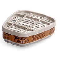 Фільтри 3М 6051 від органічних парів класу А1 для масок серії 6000/7000