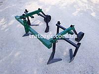 Культиватор просапной 2-х секционный с колесами для мотоблока, мототрактора, мини-трактора