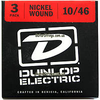 Струны Dunlop DEN1046-3P 10-46 Medium3 sets