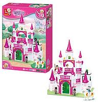 Конструктор замок принцессы sluban m38-b0151 (508 деталей) hn kk