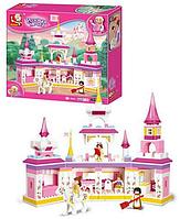 Конструктор замок принцессы sluban m38-b0251 (385 деталей) hn kk