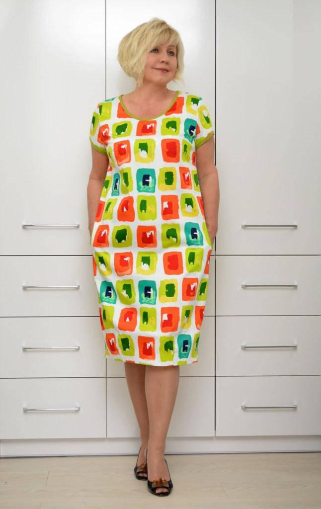 Платье-балон коттон - Модель Л465