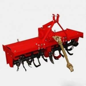 Почвофреза 100  и дополнительный редуктор с навесным механизмом в сборе  (22 ножа, 100 см)