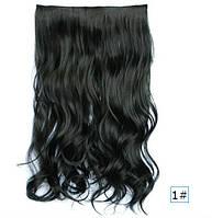 Трессы волосы на заколках Черный