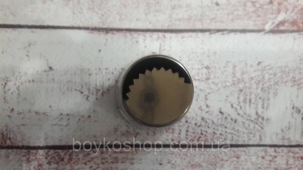 "Насадка кондитерская металл ""Тюльпан"" N15 4 см без шва"