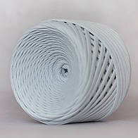Трикотажная пряжа (5-7 мм)  цвет Серебро