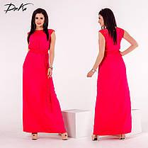 ДР0747 Платье в пол в расцветках, фото 3