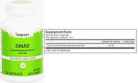 Vitacost, ДМАЭ, DMAE, 100 мг, 100 капсул