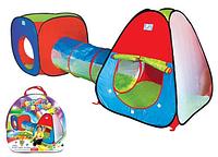 Детская палатка с туннелем m 2958 кк, hn