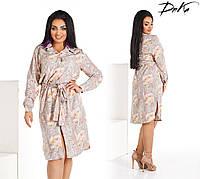 Женское платье батальное легкое ,удобное. размер 50.52.54.56  ткань супер софт турецкий