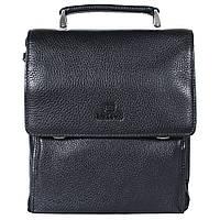 ba1e64b916a9 Киев. Мужская кожаная сумка из плотной кожи черная с ручкой Lare Boss  LB0049611-41