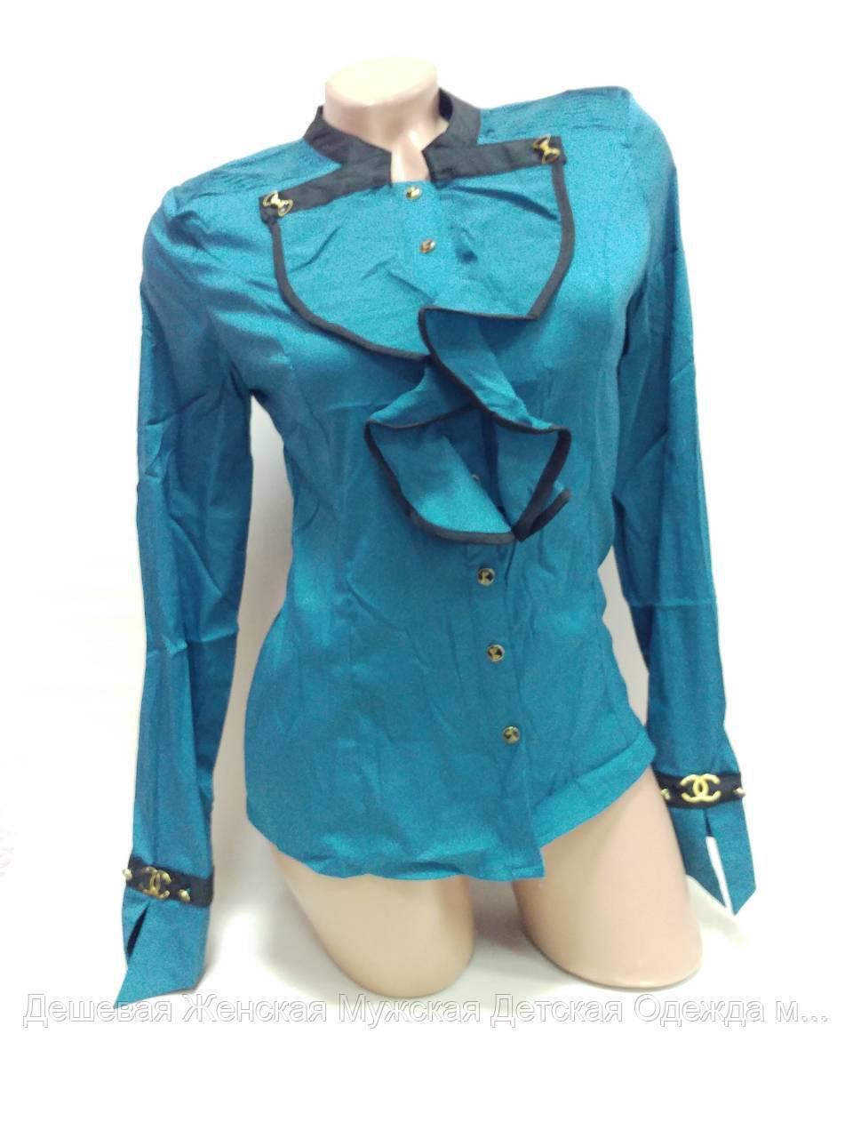 Блузка женская. В упаковке 5 шт. Размер норма 36-44