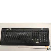 Клавіатура Joy-it: нетбук без дисплея. Має впаяний процесор Intel Atom, укомплектована жорстким диском 250 GB, та оперативною пам'яттю DDR3 2 GB