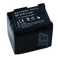 Аккумулятор для видеокамеры Canon BP-819, 1780 mAh