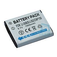 Аккумулятор для фотоаппарата Olympus LI-50B / VBX090, 1000 mAh.