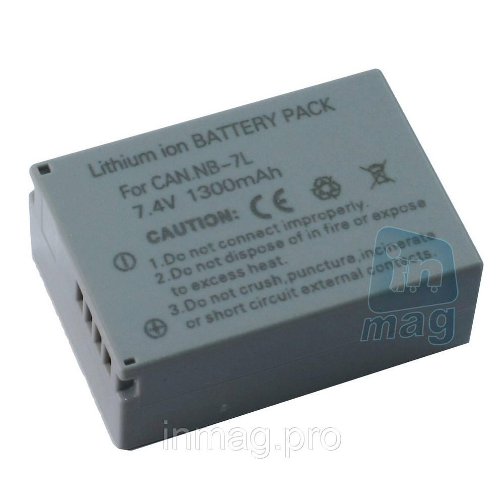 Аккумулятор для фотоаппарата Сanon NB-7L, 1300 mAh.