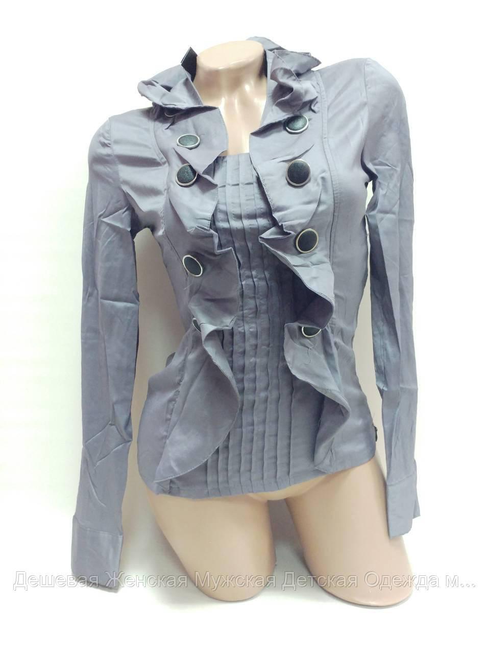 Блузка женская. В упаковке 5 шт. Размер норма (42-46)