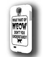 Чехол Samsung Galaxy S4  meow