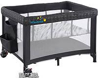 Манеж-кроватка Wonderkids Voyager (графитовый)
