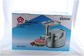 Электрическая мясорубка Domotec MS 2021  3000W  Металлический корпус, фото 3