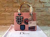 Dior сумка женская розовая