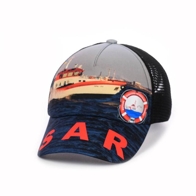 """Разработка дизайна и отшив бейсболок для организации  """"Служба спасения на водах -- SAR"""""""