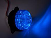 Светодиодная лампа синяя 12В