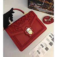 Dolce & Gabbana Lucia кожаная женская сумка