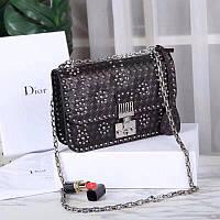 Dior сумка на плечо черная
