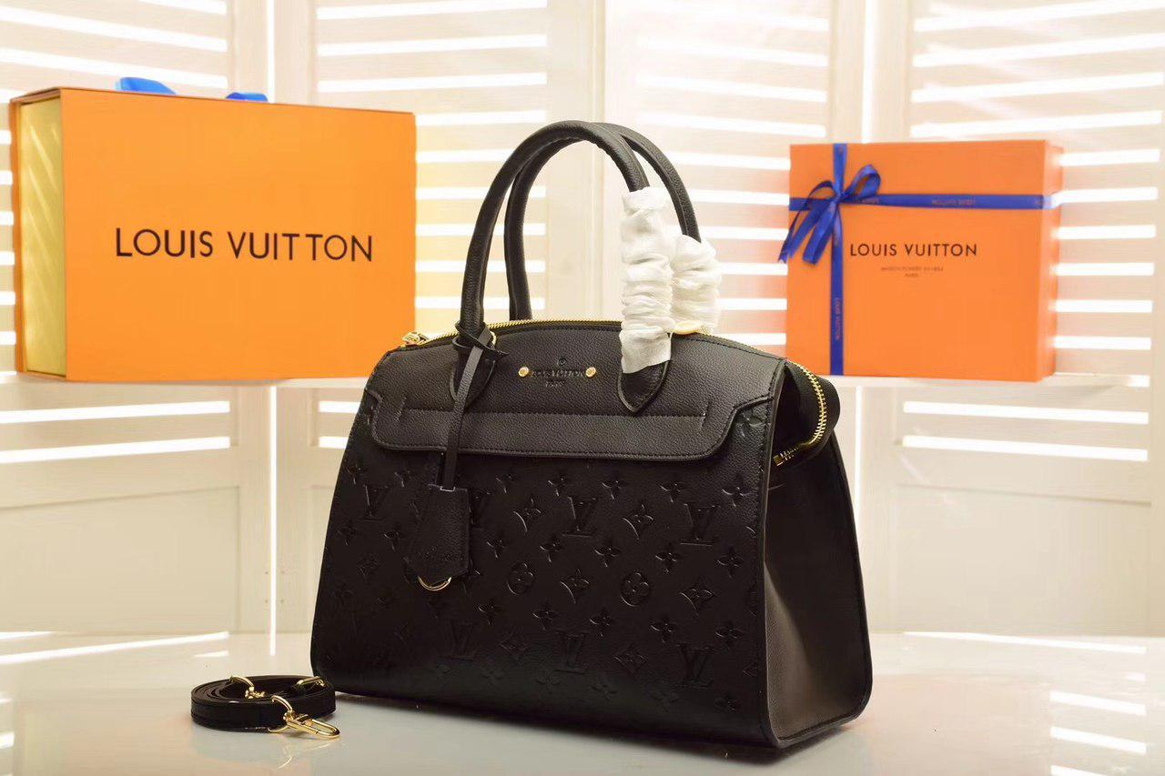 e6b054b1d994 Louis Vuitton Pont-Neuf GM Сумка Женская Черная — в Категории
