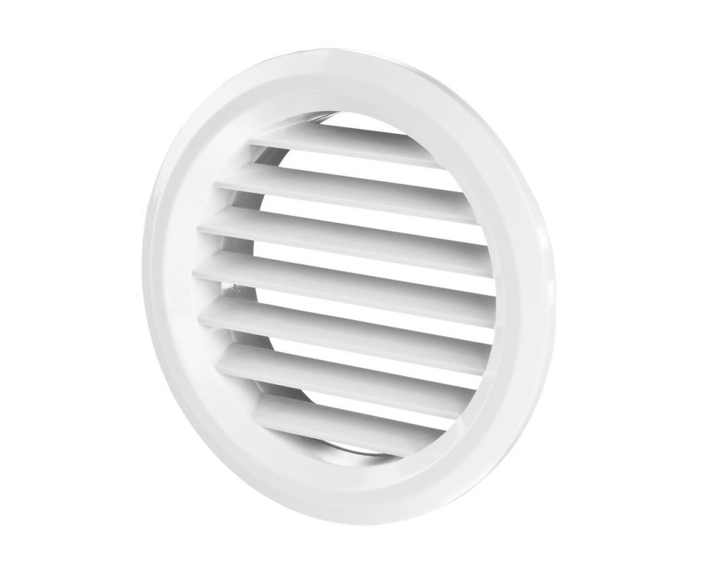 Приточно-вытяжная решетка МВ 50 бвс белая