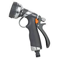 Пистолет распылитель 8-ми режимный (AL+TPR) FLORA 5011314