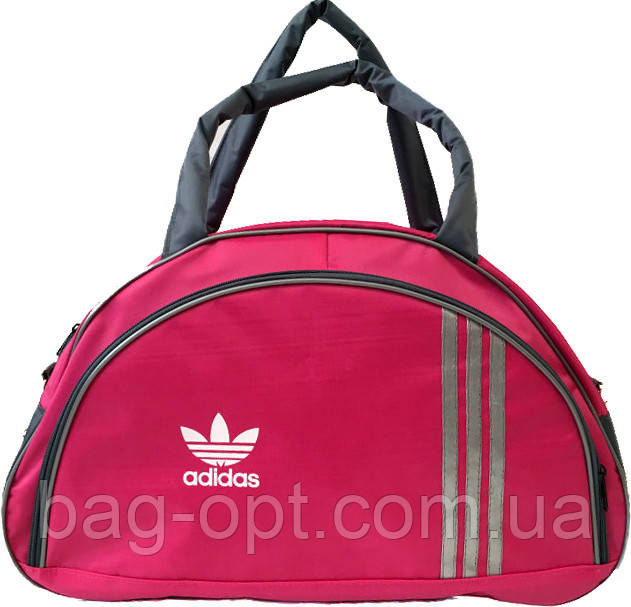 Спортивная женская сумка розовая