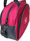 Спортивная женская сумка розовая, фото 2