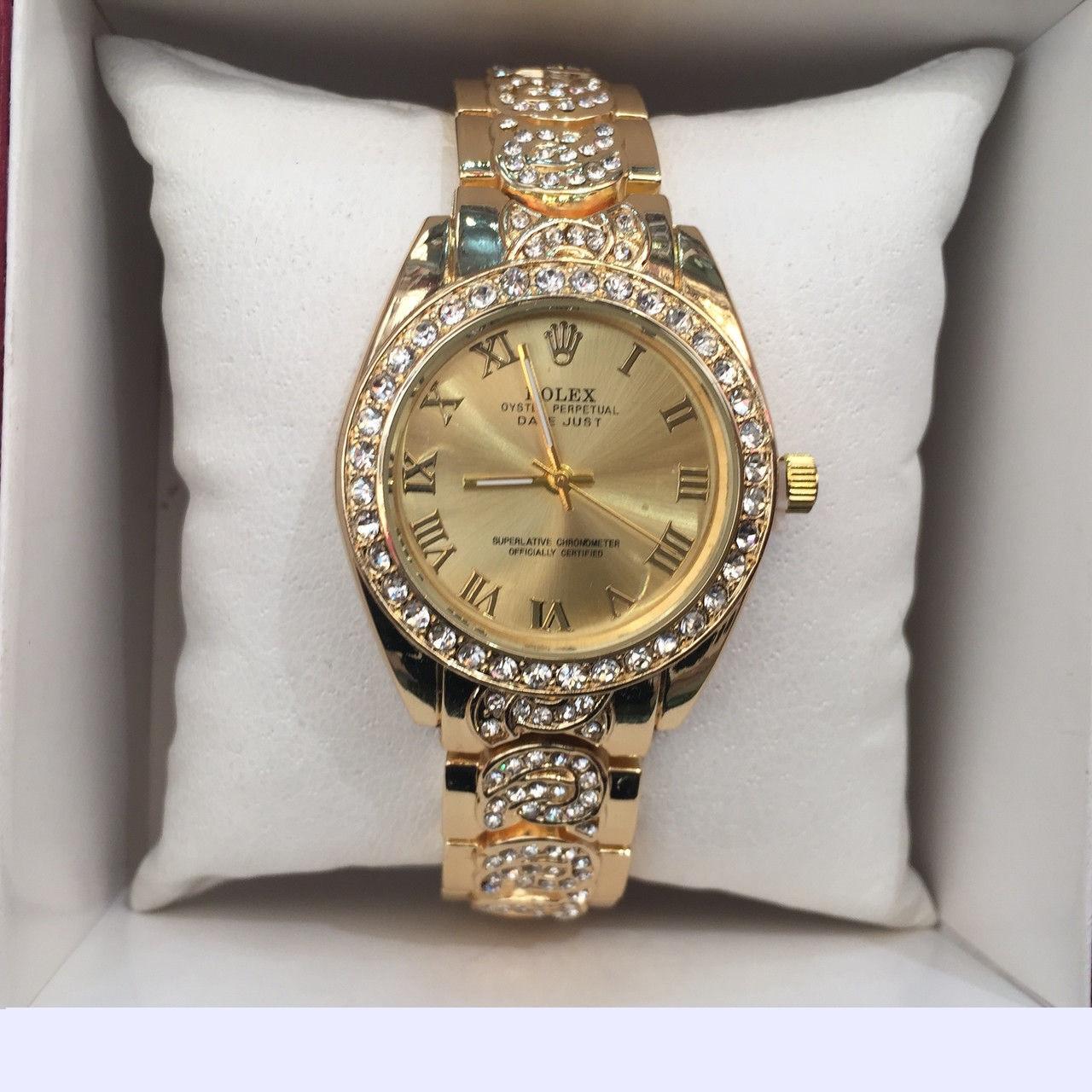 Часы наручные Rolex DIAMOND GOLD NEW 61c7d975d9b00