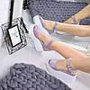 Босоножки женские Alpina лиловая пудра 5000, сандалии женские