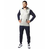 Спортивный костюм Leone Fleece Grey/Blue M
