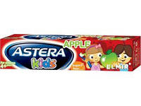 Зубная паста с яблочным вкусом Astera Kids 4+, 50 мл