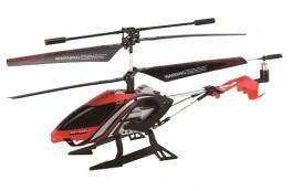 Вертолет на ИК управлении - STALKER (красный, 20 см, 3-канальный, с гироскопом), фото 2