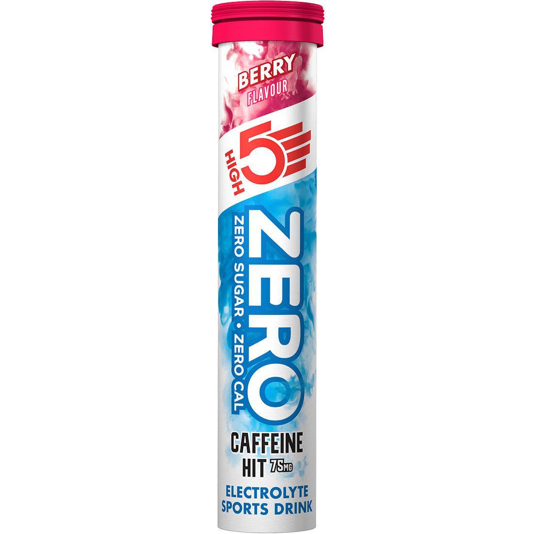 Изотоник High5 zero Caffeine hit (20 таблеток)
