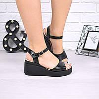 Босоножки женские Sandra черные 5008, сандалии женские, фото 1