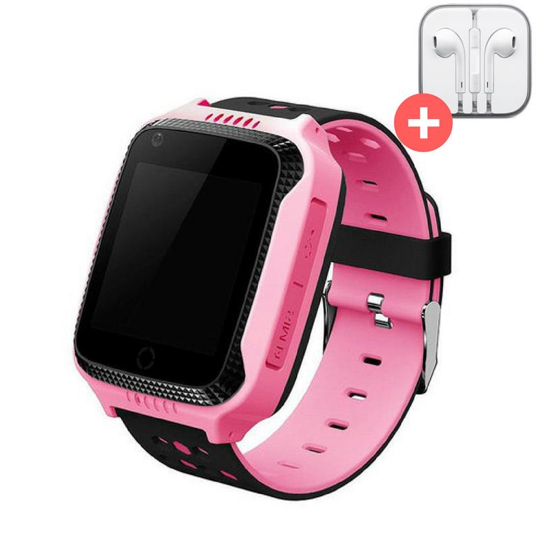 Детские умные GPS часы Smart Baby UWatch Q529 с камерой и фонариком