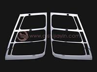 Накладки на задние фонари Suzuki Grand Vitara 2008 007613T