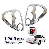 Накладки на задние фонари  Mitsubishi L200 2006-2014 007617T-B